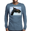 Cheezy Grins Mens Long Sleeve T-Shirt