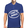 CHEF COOK funny NEW Mens Polo