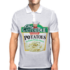 Chef Gattordee Scoopski Potatoes Mens Polo