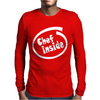 Chef Inside Mens Long Sleeve T-Shirt