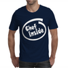 Chef Inside Mens T-Shirt
