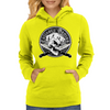 Chef Skull 1: Culinary Genius Womens Hoodie