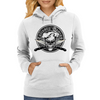 Chef Skull 1.0: Culinary Genius Womens Hoodie