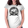 Chef Skull 3: Culinary Genius Womens Fitted T-Shirt