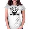 Chef Skull 6: Killer Chef Womens Fitted T-Shirt