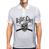 Chef Skull 8: Killer Chef Mens Polo