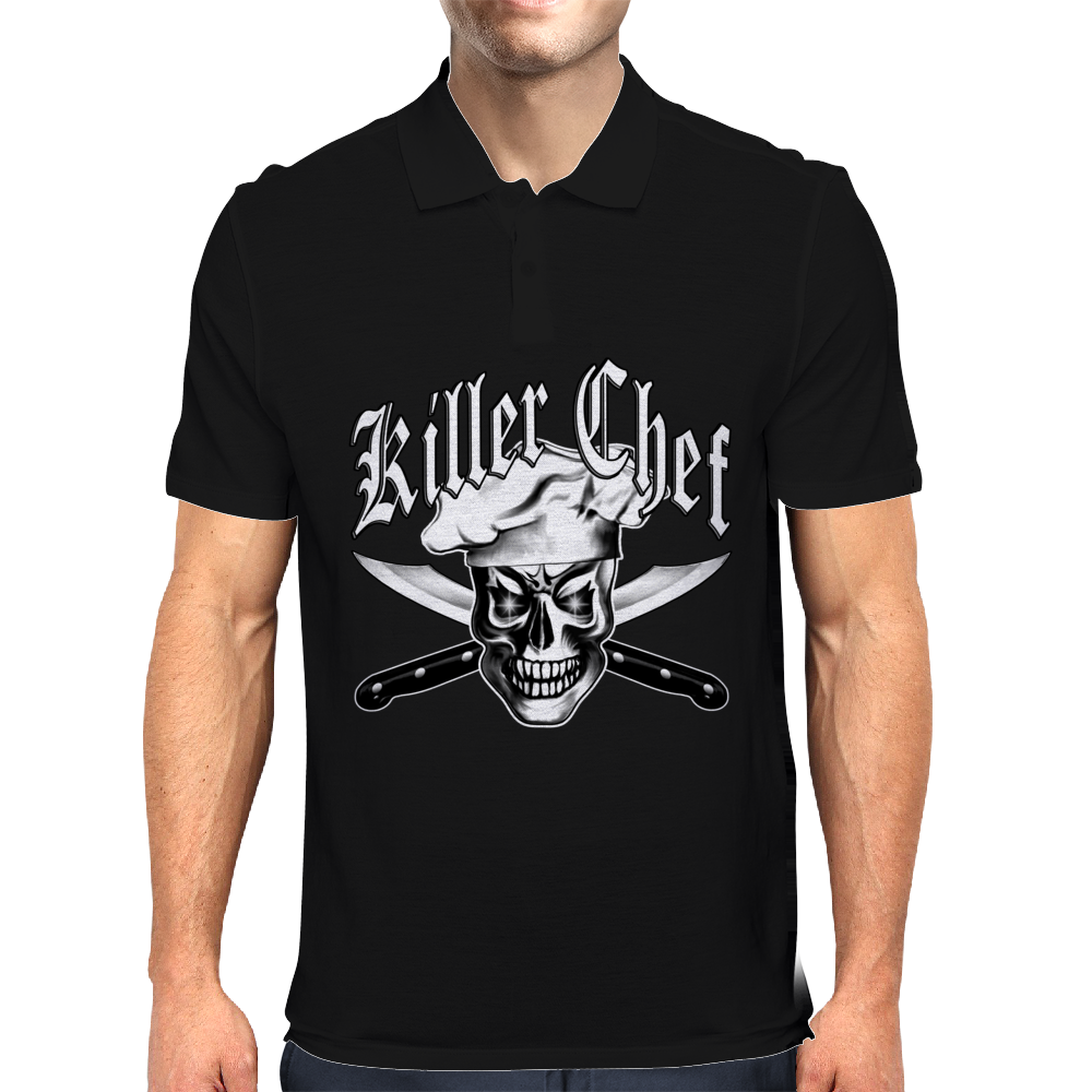 Chef skull: Killer Chef 3.1 Mens Polo