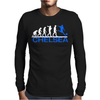 CHELSEA evolution sports football funny Mens Long Sleeve T-Shirt