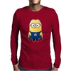 CHELSEA MINIONS Movie Despicable Me Football Funny Mens Long Sleeve T-Shirt