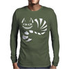 Cheshire Cat Alice In Wonderland Funny Mens Long Sleeve T-Shirt