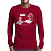 Chess Capture the Pawn Mens Long Sleeve T-Shirt