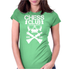 Chess Club Womens Fitted T-Shirt