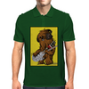 Chewbacca loves his Rebel Bass Mens Polo