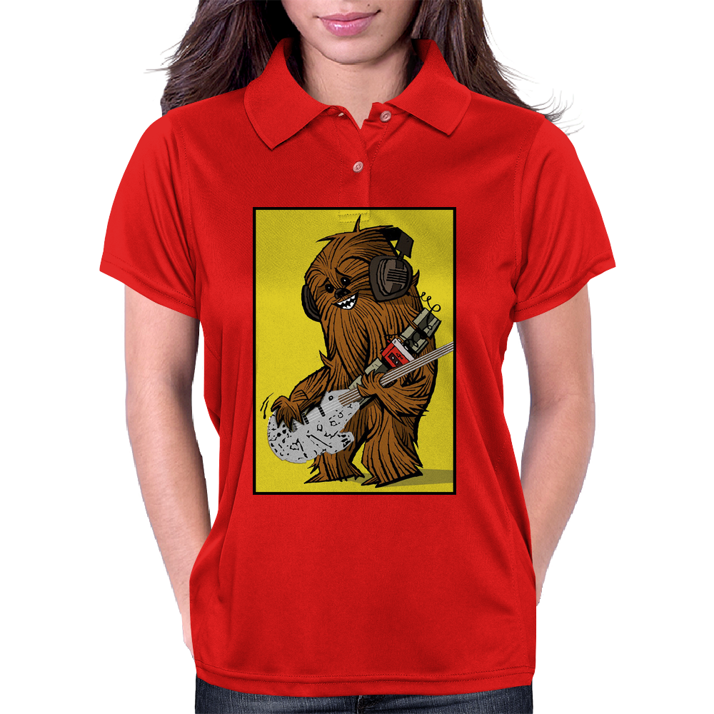 Chewbacca loves his Rebel Bass Womens Polo