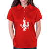 Chewbacca Riding a Velociraptor Dinosaur Womens Polo