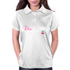 chic cherry Womens Polo