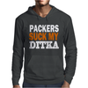 CHICAGO BEARS tee Packers can suck my ditka Mens Hoodie
