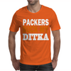 CHICAGO BEARS tee Packers can suck my ditka Mens T-Shirt