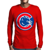 Chicago Cubs Mens Long Sleeve T-Shirt