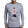 Child Frosty the Snowman Mens Long Sleeve T-Shirt