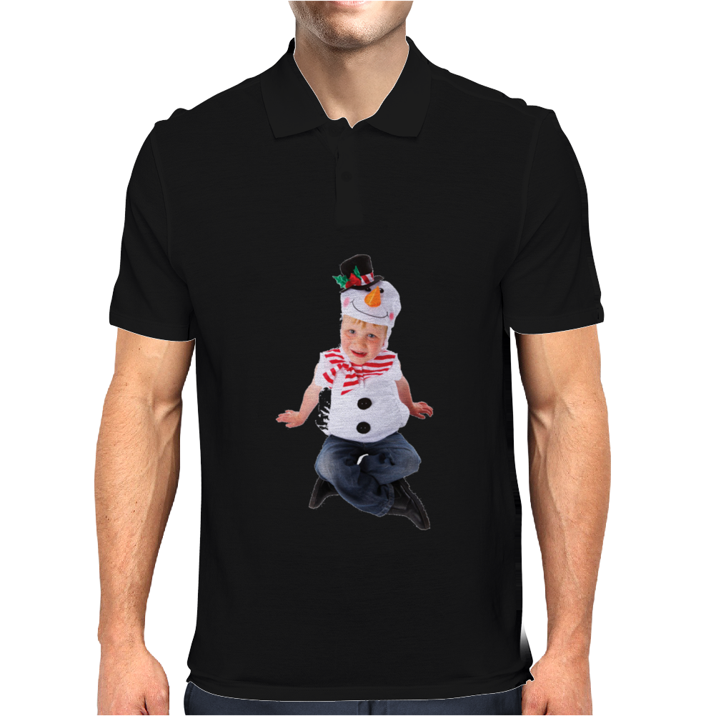 Child Frosty the Snowman Mens Polo