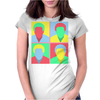 Childish Gambino pop art Womens Fitted T-Shirt