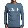Childrens Zombie walking Dead Mens Long Sleeve T-Shirt