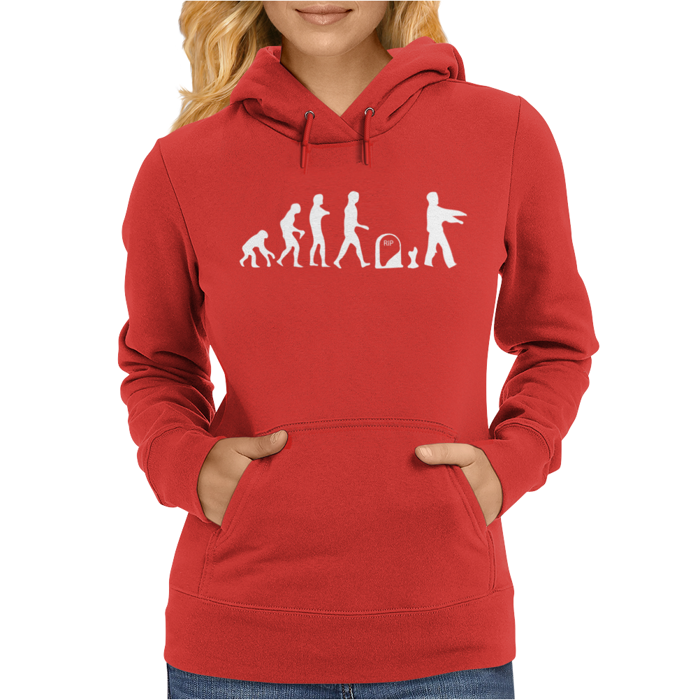 Childrens Zombie walking Dead Womens Hoodie