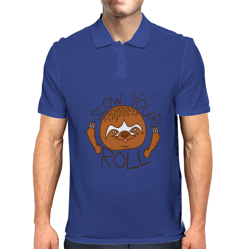 Chill Sloth Mens Polo