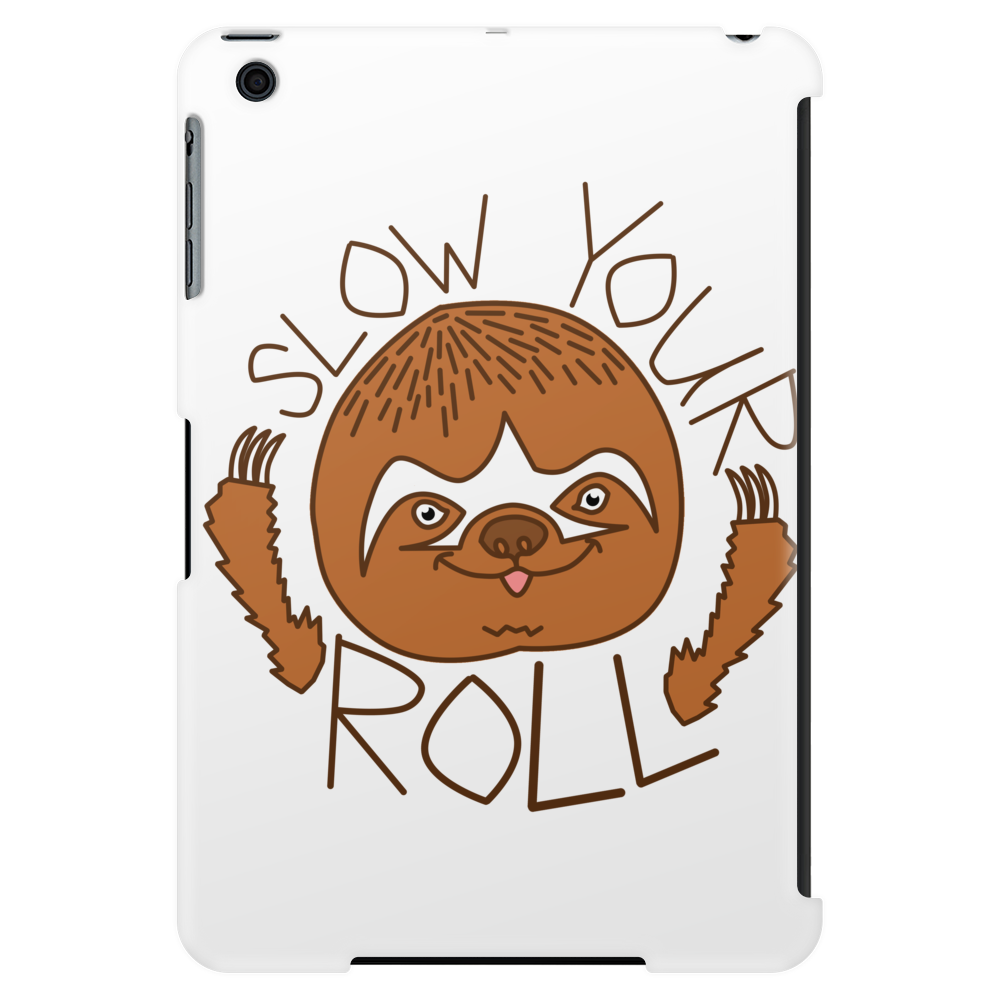 Chill Sloth Tablet (vertical)