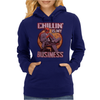 Chilling is my Business Deadpool Womens Hoodie