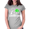 Chillkrote Smoke Weed Punk Gras Womens Fitted T-Shirt