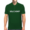 Chimp Funny Witty Mens Polo
