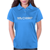 Chimp Funny Witty Womens Polo