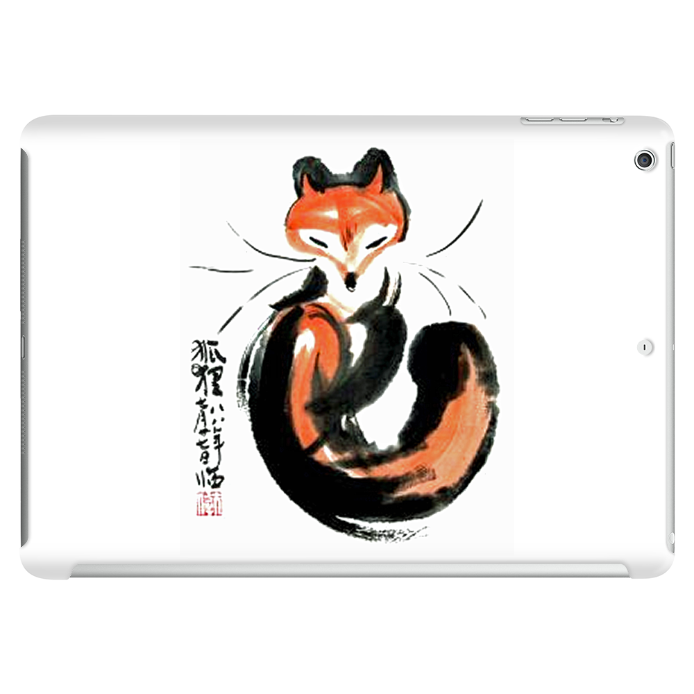 Chinese Fox Water Color Art Tablet (horizontal)
