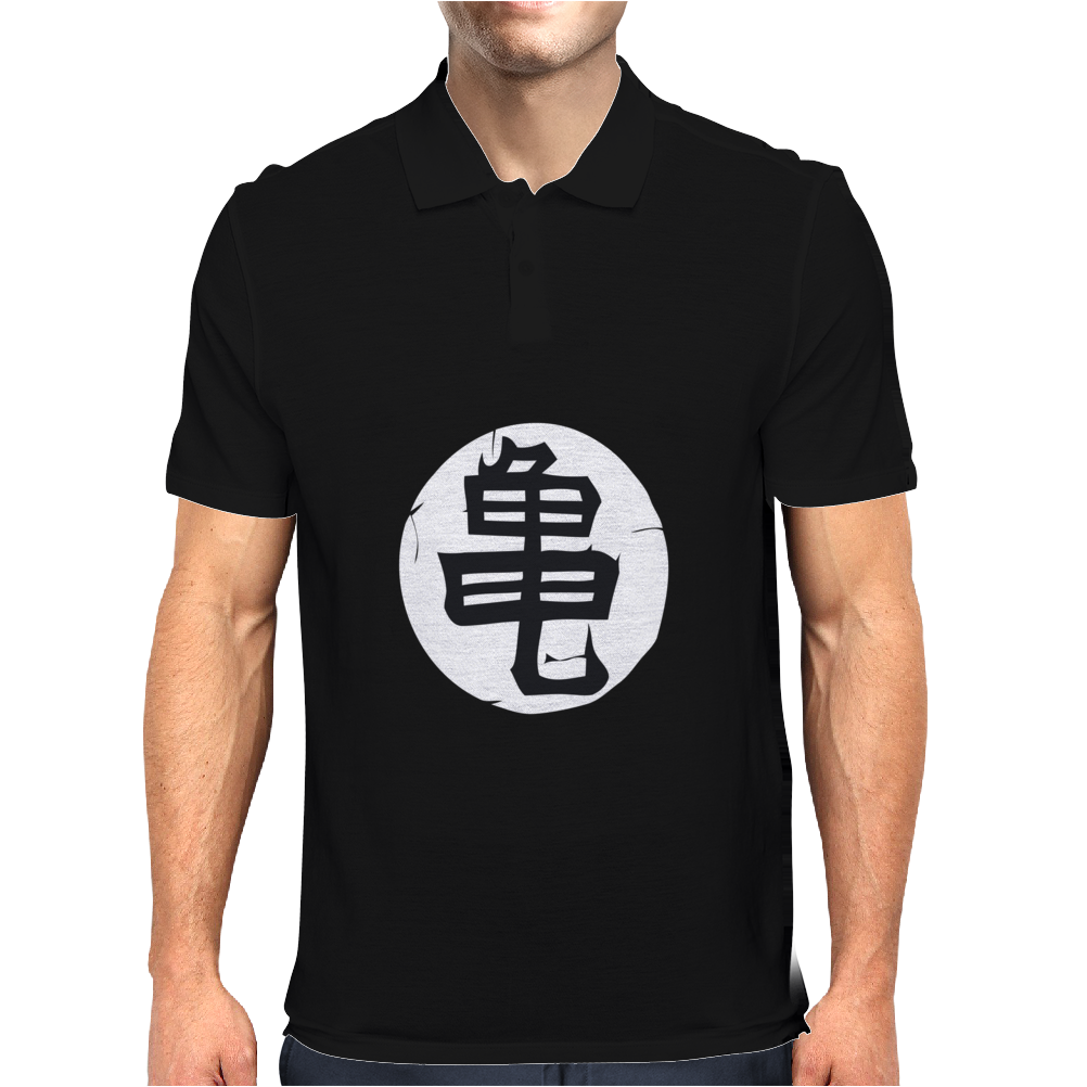 chinese logo Mens Polo