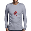Chinese symbol for Love. Mens Long Sleeve T-Shirt