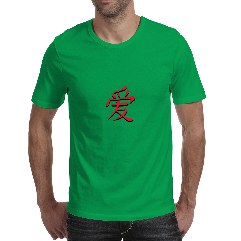 Chinese symbol for Love. Mens T-Shirt