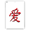 Chinese symbol for Love. Tablet