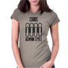 Choas german style Womens Fitted T-Shirt