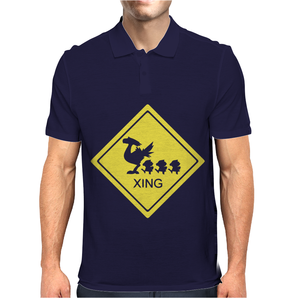 Chocobo Xing Final Fantasy Mens Polo