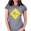 Chocobo Xing Final Fantasy Womens Fitted T-Shirt