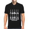 Choose Your Weapon funny Mens Polo