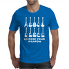 Choose Your Weapon funny Mens T-Shirt