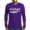 Choose Your Weapon Game Mens Long Sleeve T-Shirt