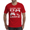 Choose Your Weapon Gamer FINNY RETRO Mens T-Shirt