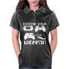 Choose Your Weapon Gamer FINNY RETRO Womens Polo