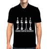 Choose Your Weapon Guitar  Funny  retro music guitarist metal Mens Polo