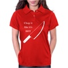 Chop it like it's Hot Womens Polo