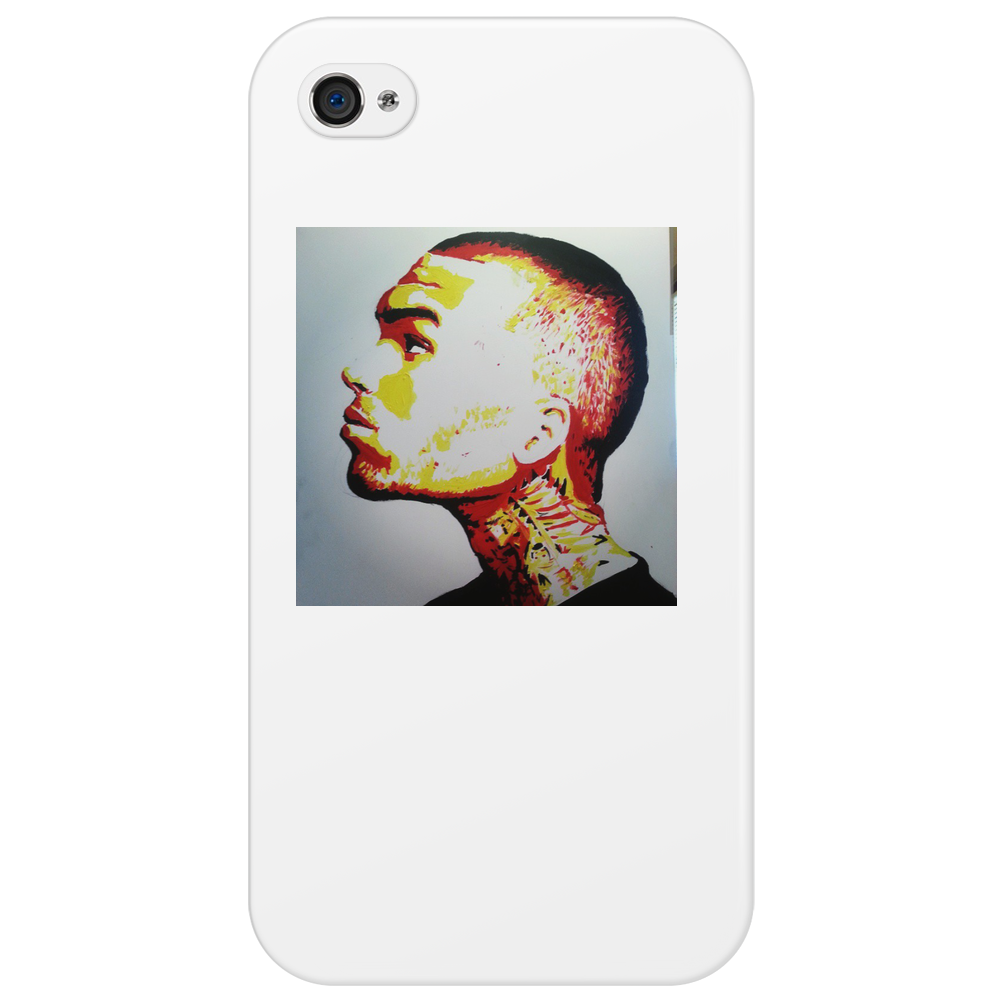 Chris Brown New Flame Phone Case